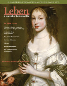 "One the Cover: Gracing our cover this issue is a portrait of Princess Elizabeth that has never before appeared in any publication. It is one of two portraits discovered as part of an estate by Mallett's, the prestigious London auction house, which sent them to the National Portrait Gallery for authentication. The images are not only those of the two Palatine princesses, but we have learned that both were painted by their sister, Louisa. We wish to thank Mallett Antiques, which has graciously granted us permission to present, for the first time ever, the ""Princesses Palatine."""