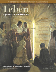 "On the Cover: ""Bible Reading in the Tower of Constance"" (1907) by Jeanne Lombard. Courtesy of Musée du Désert, Mialet, France."