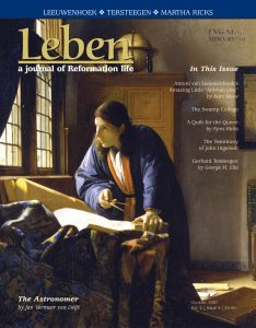 "On the Cover: ""The Geographer"" by Jan Vermeer van Delft (1632-1675). Courtesy of Städel Museum, Frankfurt, Germany. It has been suggested that Leeuwenhoek was the subject of Vermeer's paintings, ""The Geographer"" and ""The Astronomer."""
