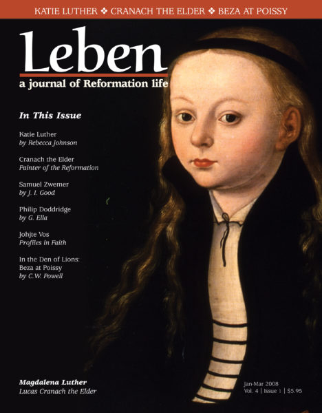 On the Cover: Magdalena Luther, Lucas Cranach the Elder.