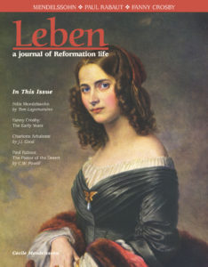 On the Cover: Cécile Mendelssohn Bartholdy neé Jeanrenaud, 1817-1853, by Edouard Magnus.