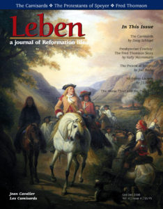 On the Cover: Jean Cavalier (on the white horse). The French protestants in the Cévennes region who took up arms had no uniforms. They were were called 'camisards', those who fight in shirts (in camises). Special thanks to the Musée du Désert, France, www.museedudesert.com.
