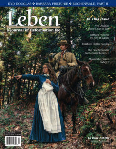"On the Cover: ""La Belle Rebelle: Confederate Spy Belle Boyd & 1st Lt. Henry Kyd Douglas. Front Royal, VA, May 23, 1862,"" by John Paul Strain, 2006."