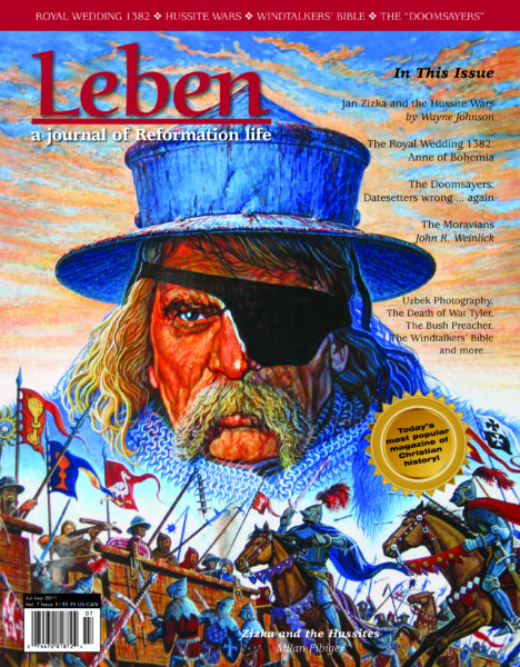 """On the Cover: """"Zizka and the Hussites"""" by Milan Fibiger, www.milanfibiger.com."""