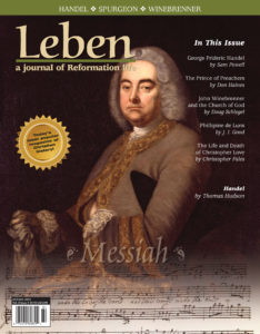 On the Cover: Handel by Thomas Hudson, 1744